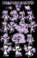 Hollow Mutations  - NEW by griffsnuff