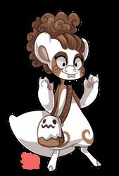 #1380 Nomnom BB - Chocolate Candy Ghost by griffsnuff