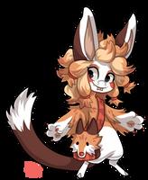#1726 Tribal BB - Rugged fox by griffsnuff