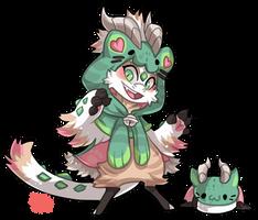 #2243 Mythical BB - Cat dragon