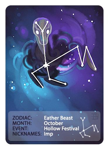 GIC - Zodiac - Eather Beast by griffsnuff