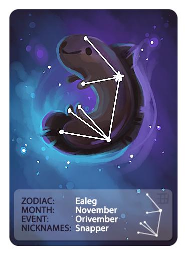 GIC - Zodiac - Ealeg by griffsnuff