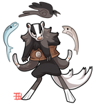 #405 Bavom Soldier - Badger by griffsnuff
