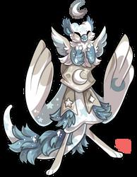 #400 Royal Guard BB - Moon Gryphon by griffsnuff
