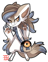 #2921 Hollow BB - Wolf Eye [AUCTION]
