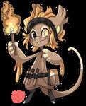 #2993 Celestial BB - Burning Torches