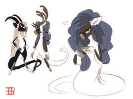 Embla doodles