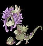 #3153 Celestial BB - Cupcake Crocodile [SOLD]