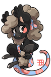 #3209 Celestial BB - Sock Sheep