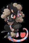 #3209 Celestial BB - Sock Sheep