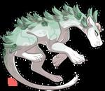 #363 Guardian - Boreal Wolf spirit