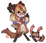 #4121 Mythical BB - Wizard Otter