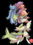 #4163 Mythical BB - Sea Bass Mermaid