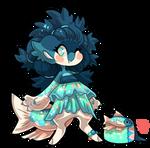 #4164 Mythical BB - Pale Chub Mermaid