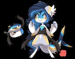 #4175 Mythical BB - Tuna Mermaid