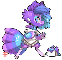 #4179 Mythical BB - Guppy Mermaid