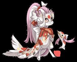 #4184 Mythical BB - Koi Mermaid