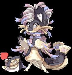 #4186 Mythical BB - Cat Fish Mermaid