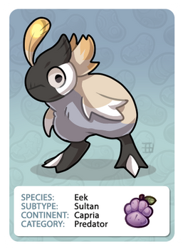 GIC - Griffian Info Card - Sultan [Common]