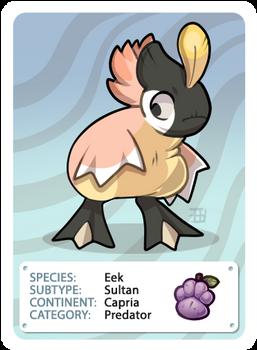 GIC CARD - Griffian Info Card - Sultan [UNCOMMON]
