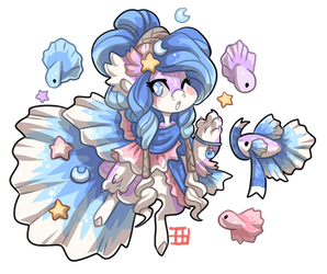 #4204 Mythical BB - Betta Mermaid