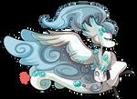 #4250 Mythical BB - Frozen Fog Dragon