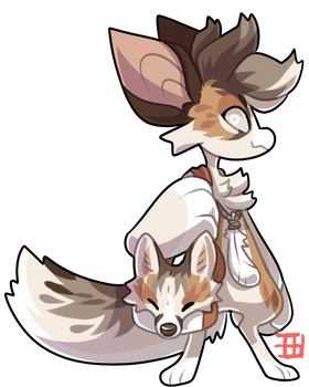 #870 Fornlee - Marble Fox