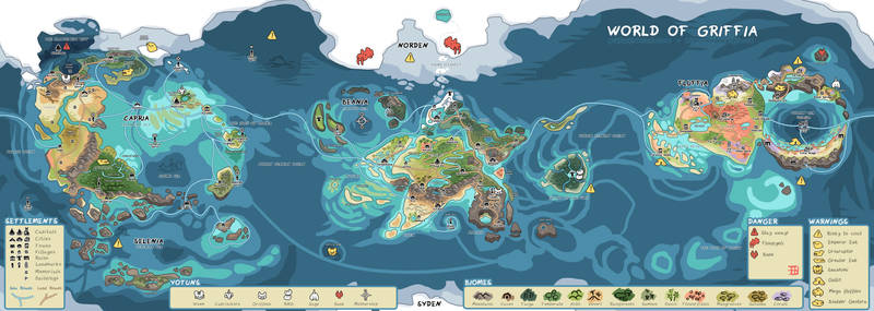 [ARPG] World of Griffia Map