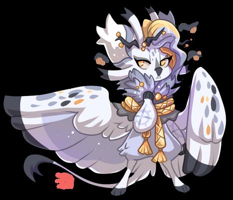 #903 Terradragon - Snowy Owl