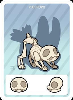 GIC - Griffian info card - Skeleton Pupo