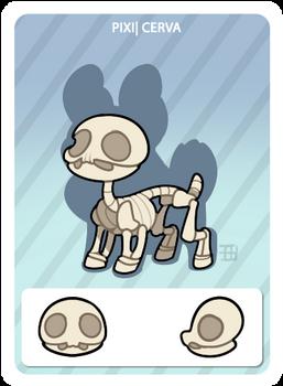 GIC - Griffian info card - Skeleton Cerva