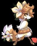 #324 FF - White Poinsettia