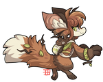 #913 Fornlee - Forest Fox
