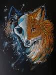 Holo Glitter Fox