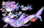 #4942 Mythical BB - Shark Mermaid