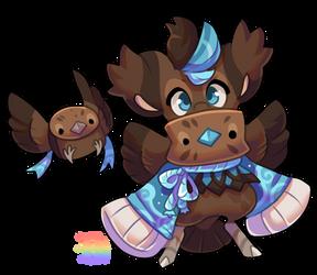 #4984 Fauna BB - Brown Dipper