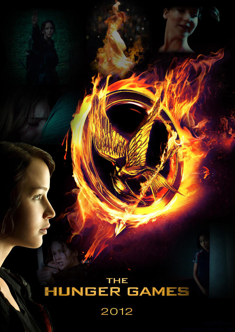Hunger Games Poster by MagicMoonCat