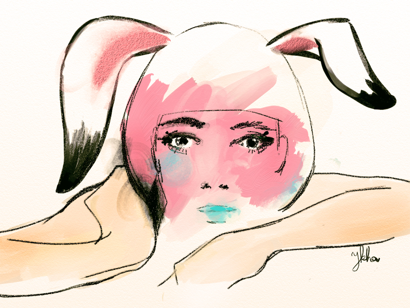 lady bunny by ykhaykha