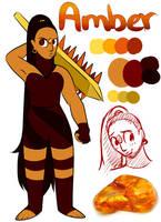My Gemsona Amber. by Riquis101