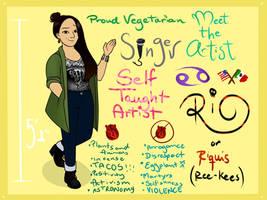 MEET THE ARTIST~ by Riquis101