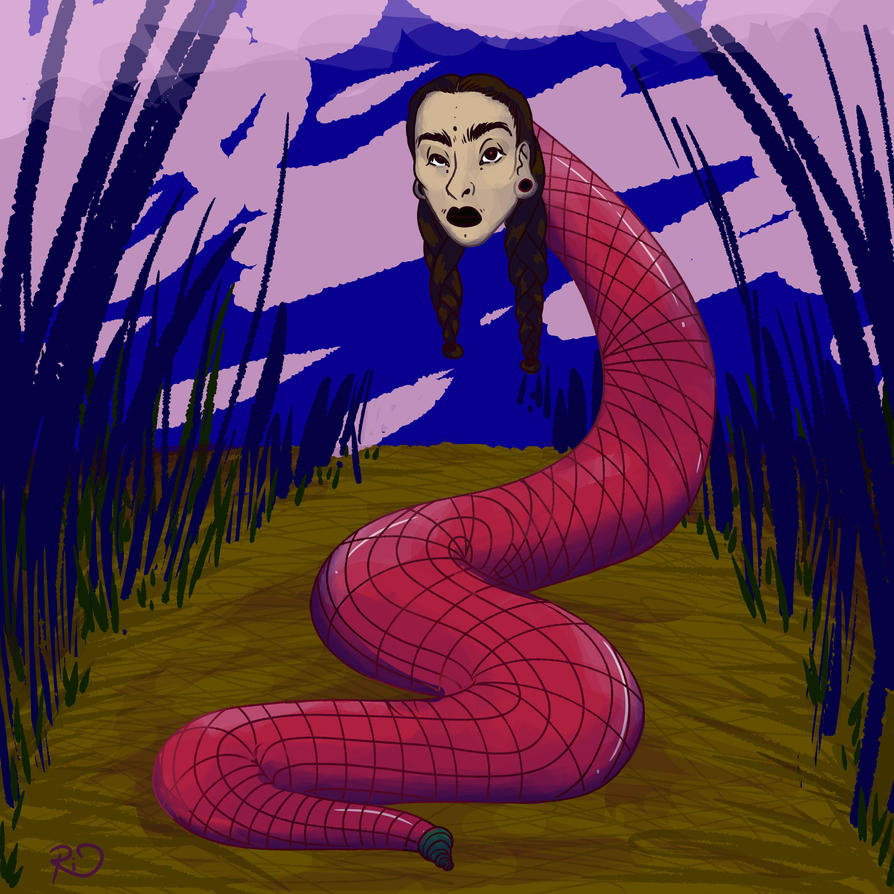 Snake Lady by Riquis101