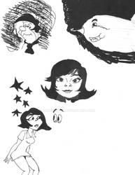 Bjork- I Miss You Doodles