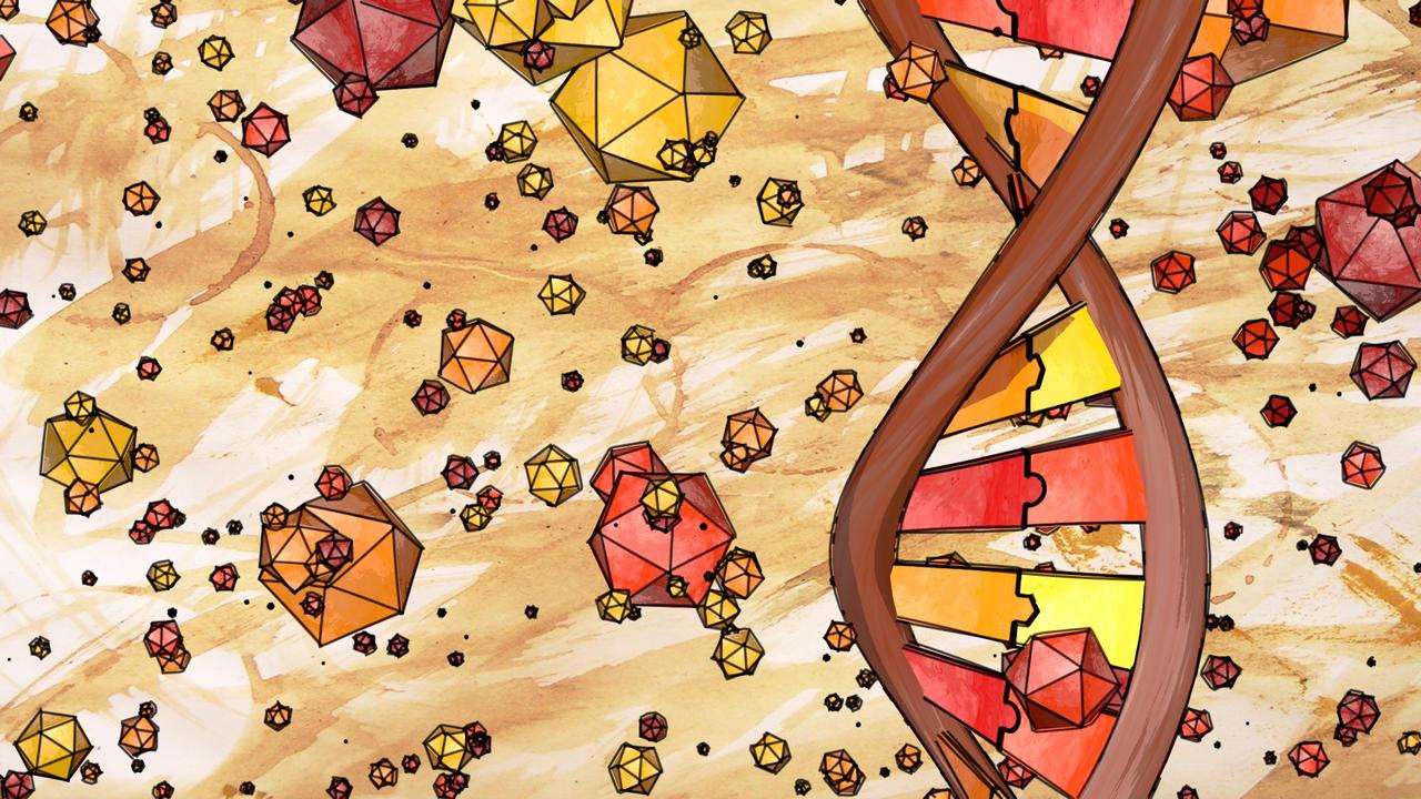 Sketchy DNA by RingquelleNL