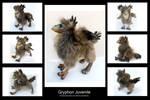 Juvenile Gryphon Doll