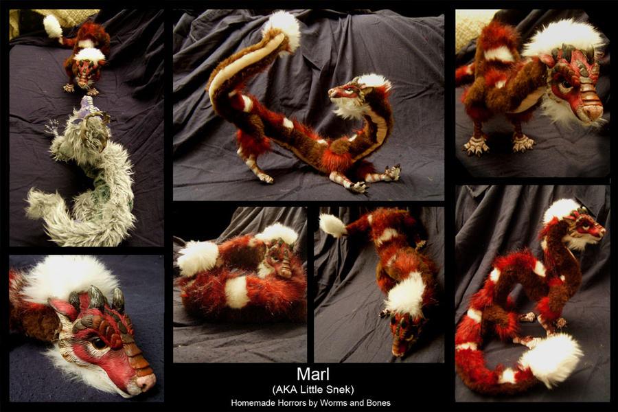 Marl - AKA Little Snek by WormsandBones