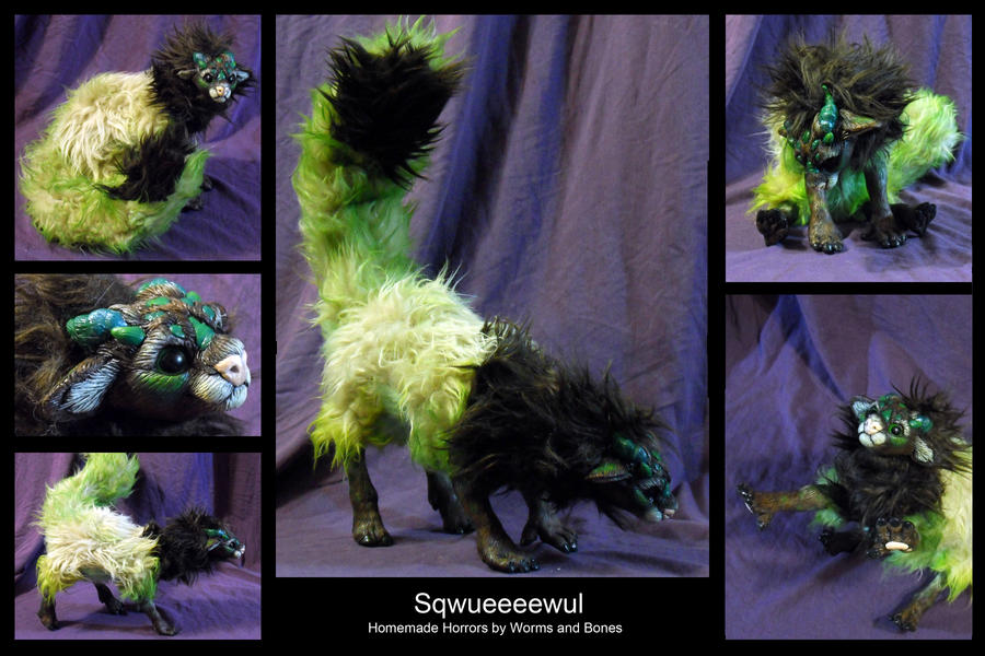 Its a Sqwueeeewul! by WormsandBones