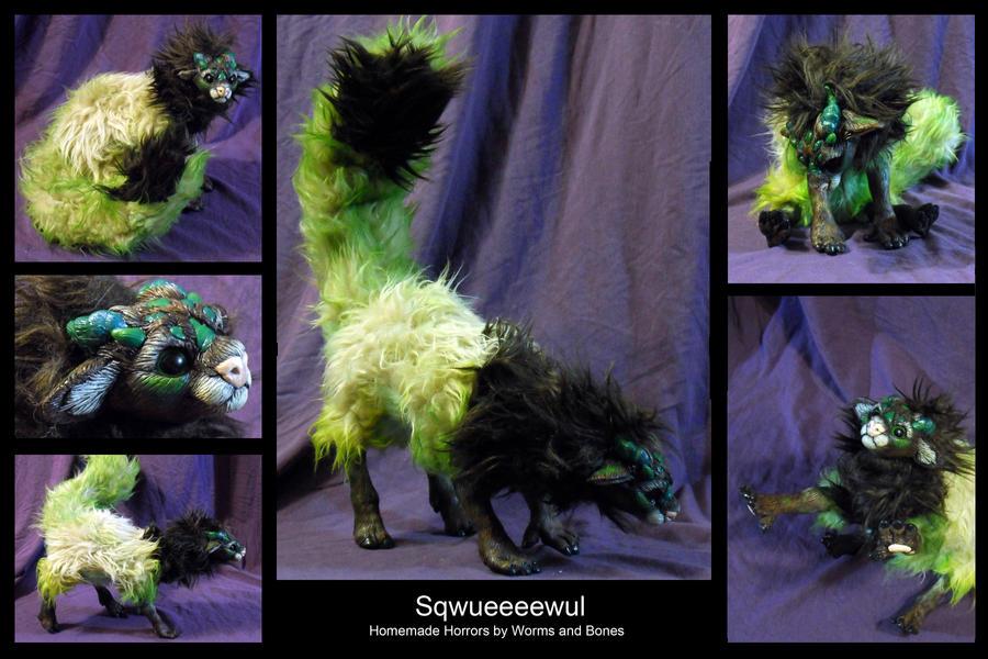 Its a Sqwueeeewul! by WormsandBones