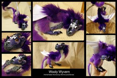 Wooly Wyvern by WormsandBones