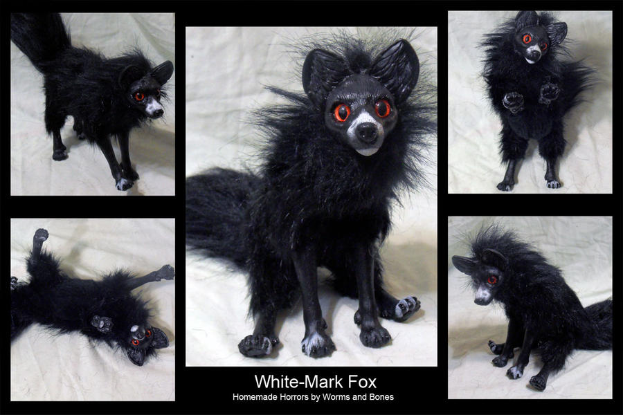 White Mark Fox by WormsandBones