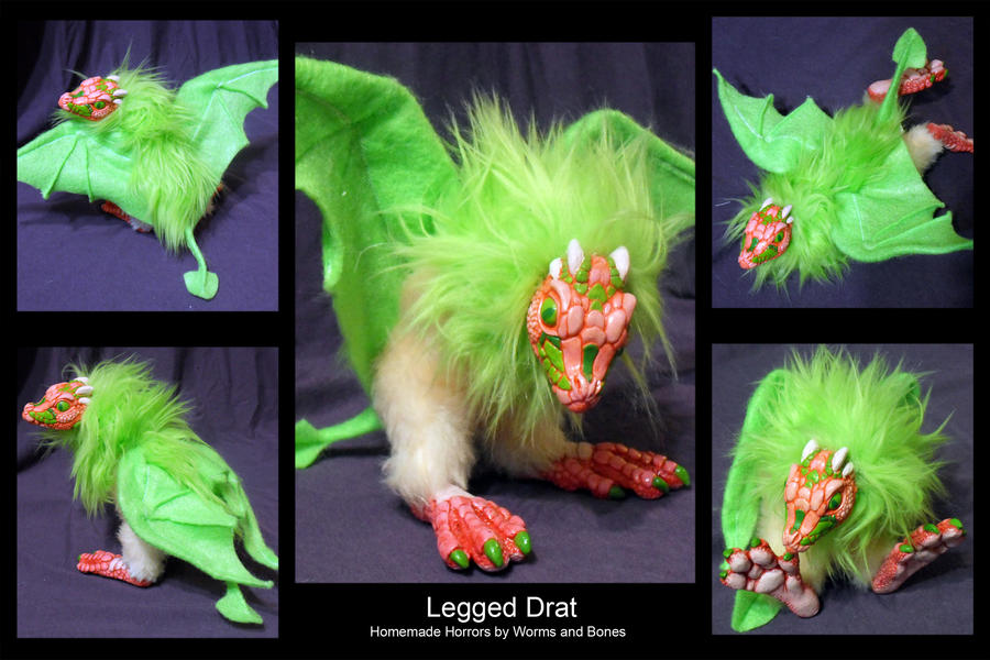 Legged Drat by WormsandBones
